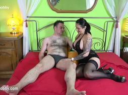 MyDirtyHobby - Goddess Paris made him win two times over