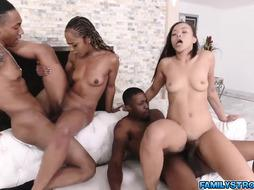 fourway with dark-hued COUGAR Misty and Daugherty Adriana