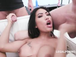 Polly Pons is a plowing, Japanese black-haired who luvs to have fuck-fest with many studs