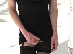 First-Timer Sissy in a Fashionable Sundress