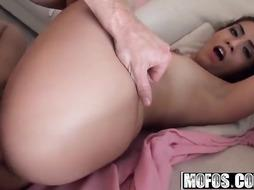 Anal Invasion fuck-fest luving gal, Isabella DeSantos got down and muddy with one of her neighbors