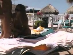 Don%27t Get Arrested: Pounding Poolside At Resort