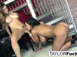 Taylor Gets Crazy With Lisa Ann