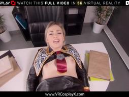 VRCosplayX Selvaggia Stunner Wants Your Firm Lollipop