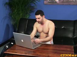 Girl housemates catch him web cam