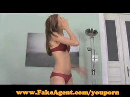 FakeAgent Impressively sizzling unexperienced in Audition!