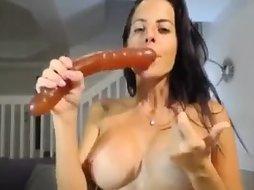 Amateur Babe On Dildo Hardcore Masturbation S