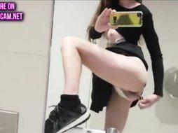 quickie in public restroom
