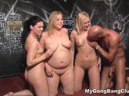 Whores Love to Fuck in a Gangbang