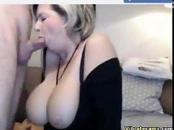 French couple with some amazing boobs