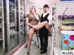 Horny Cory enjoys sucking Van huge cock