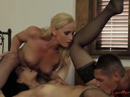 Blonde Mistress Makes Him Fuck Her Hard