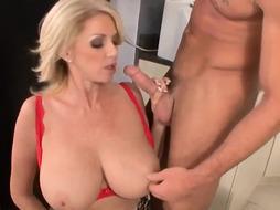 The BEST Busty Blonde Milf. Watch Part 2 at firstclassmilf.com
