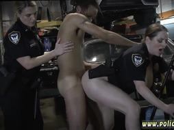 Milf cop fucks girl and blonde grapher Chop Shop Owner