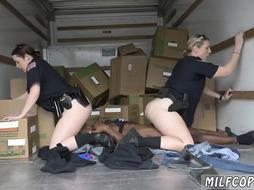 Milf Cops are Banged by black Dick