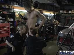 Small tits athletic milf Chop Shop Owner Gets Shut Down