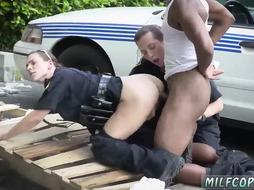 Brunette wife black gangbang I will catch any perp