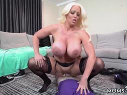 German beauty blond milf Step Mom's New Fuck Toy