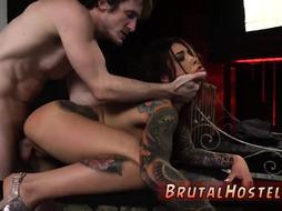 Bondage fucking of a pussy