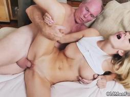 German blonde threesome amateur and white pony Molly
