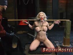 Banana crush for slave Big-breasted towheaded hotty
