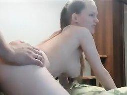 Brunette Gets Fucks On Cam