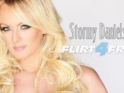 Stormy Daniels Performs a Breathtaking Exclusive Webcam Show on Flirt4Free