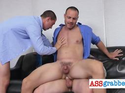 Tiny pecker stud likes a dong deep in