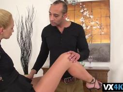 Gorgeous girl pounded by neighbor