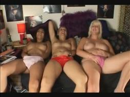 three friends fingering together