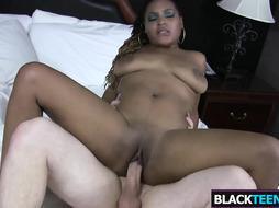 Racked Dark Gal Monique Symone Gets Banged