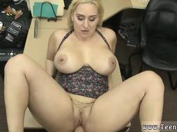 Milf Fucked Hard in the back of the store