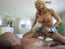 Rough anal for blonde milf