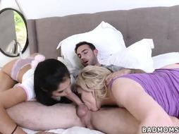Milf craves Stepmom To The Rescue