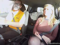 Big ass driving student fucking