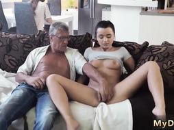 Sex with old senior