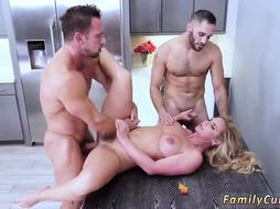 Milf is Fucked by two best Friends