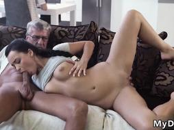 Pussy spanked and teased