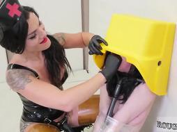 Slave girl bondage