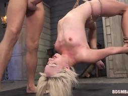 Submissive Sexy Blonde Eliza Jane Fucked Hard