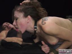 Bondage slave rimming xxx He agrees to help and she