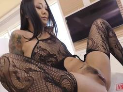 Asian Slut Loves Anal Sex a lot