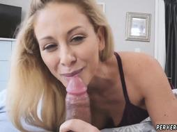 Mom teaches nerd Cherie Deville in Impregnated By My