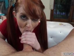 Redhdead Girl Loves to Fuck