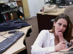 White man sucking dick Foxy Business Lady Gets Fucked!
