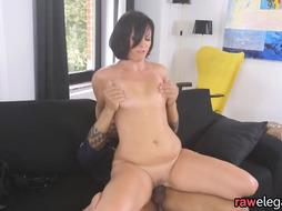 European MILF deepthroating black wang