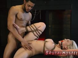 Rough hair pulling creampie Big-breasted ash-blonde