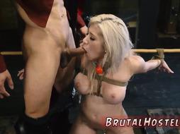 Girl dominates and fucks guy Big-breasted blondie