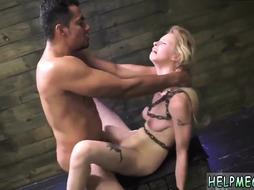Spanked then brutally fucked