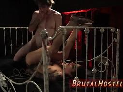 Brutal bondage fisted and male domination Excited